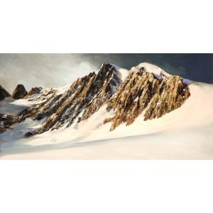 Toile sur chassis glacier et haute montagne