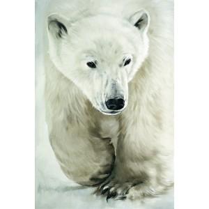 Toile sur chassis ours polaire qui marche