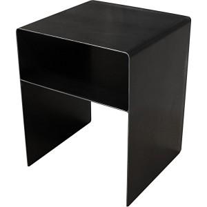 Chevet cube metal avec niche