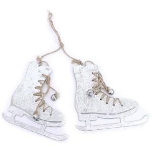 Petits patins à glace à suspendre