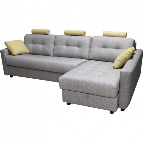 Canapé d'angle convertible grand confort bolero