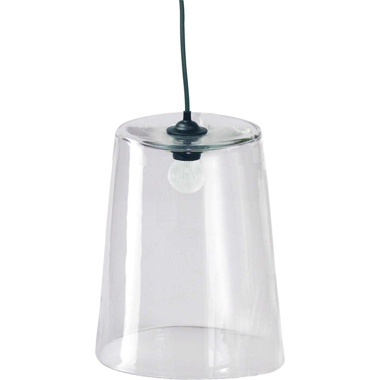 suspension 1 lampe abat jour verre grand modele. Black Bedroom Furniture Sets. Home Design Ideas