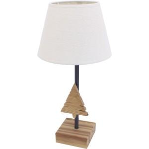Petite lampe bois sapin