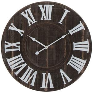 Horloge vieux bois