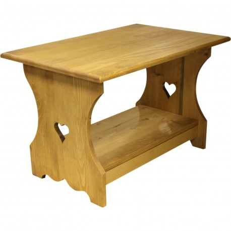 Table basse alpine coeur 70