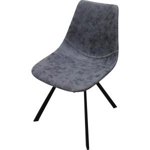 Chaise vintage pied métal