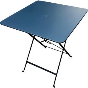 Table métal pliante Carre