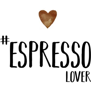 Serviette papier espresso lover