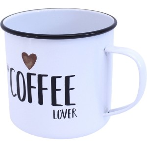 Mug métal coffee lover