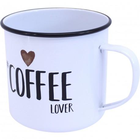 Mug métal coffee lover