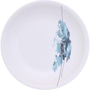 Assiette creuse  glacier
