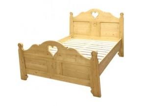 Vente de lits ambiance chalet et déco de montagne