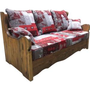 3-Fold Convertible Sofa Bed
